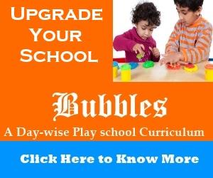 Play school curriculum india